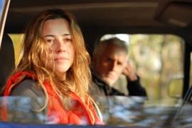 Linda Cardellini and John Slattery in Return