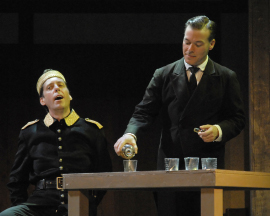 Dennis Fox and Tim Budd in Richard III