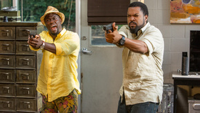 Kevin Hart and Ice Cube in Ride Along 2