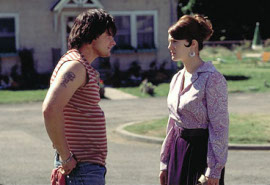Steve Zahn and Drew Barrymore in Riding in Cars with Boys