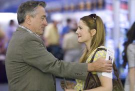Robert De Niro and Drew Barrymore in Everybody's Fine