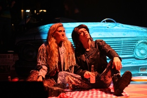 Annalise Griswold and Christian Chambers in Rock of Ages