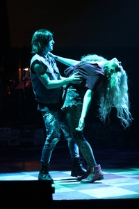 Christian Chambers and Annalise Griswold in Rock of Ages