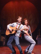 Steve Lasiter and Kimberly Furness in Ring of Fire