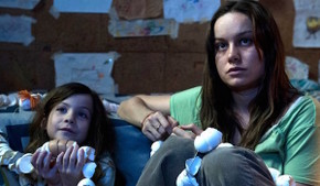 Jacob Tremblay and Brie Larson in Room