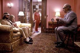 Luke Wilson, Gwyneth Paltrow, Ben Stiller, and Gene Hackman in The Royal Tenenbaums