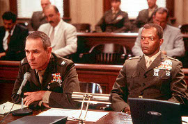 Tommy Lee Jones and Samuel L. Jackson in Rules of Engagement