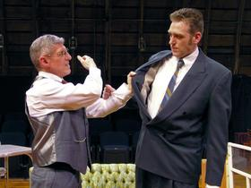 James Driscoll and Dana Moss-Peterson in Death of a Salesman