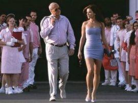 Michael Caine and Sandra Bullock in Miss Congeniality