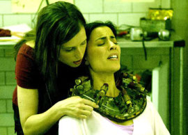 Shawnee Smith and Bahar Soomekh in Saw III