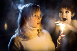 Anna Faris and Drew Mikusa in Scary Movie 3