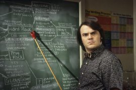 Jack Black in The School of Rock
