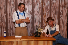 Dana Moss-Peterson and Michael King in Second Samuel