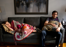 Keira Knightley and Steve Carell in Seeking a Friend for the End of the World
