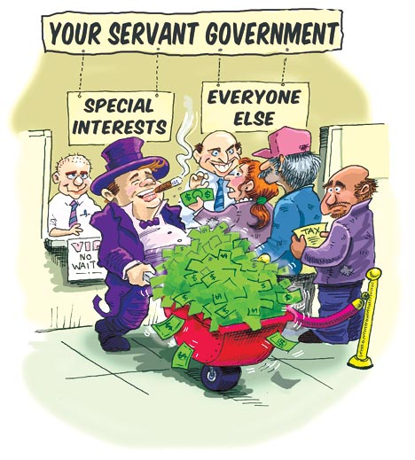 Your  Servant Government