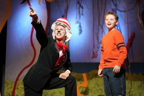 Morton Garringer and Joseph Brune in Seussical