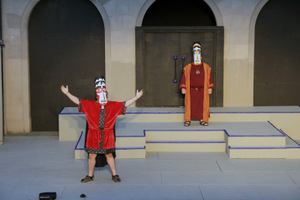 Doug Adkins and Gary Adkins in Seven Against Thebes