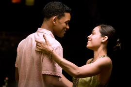 Will Smith and Rosario Dawson in Seven Pounds