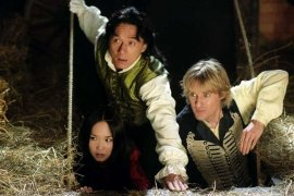 Fann Wong, Jackie Chan, and Owen Wilson in Shanghai Knights