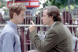 Hayden Christensen and Peter Sarsgaard in Shattered Glass