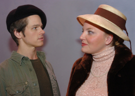 Sheri Hess, with Bryan J. Tank, in Evita