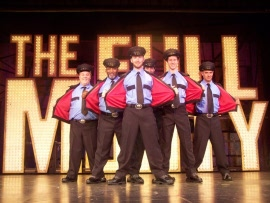 ensemble members in The Full Monty