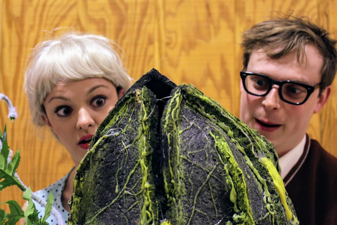 Abbey Donohoe and Andy Sederquist in Quad City Music Guild's Little Shop of Horrors - March 29 through April 1