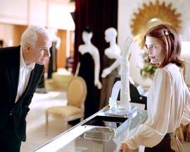 Steve Martin and Claire Danes in Shopgirl