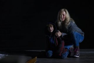 Jacob Tremblay and Naomi Watts in Shut In