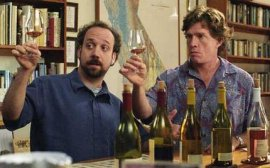 Paul Giamatti and Thomas Haden Church in Sideways