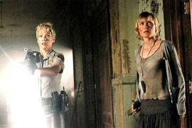 Laurie Holden and Radha Mitchell in Silent Hill