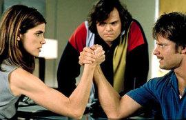 Amanda Peet, Jack Black, and Steve Zahn in Saving Silverman