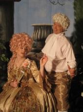 Claire Barnhart and Patrick Stinson in Singin' in the Rain