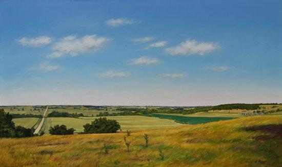 'Southern Iowa View' (1986)