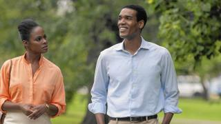 Tika Sumpter and Parkers Sawyers in Southside with You