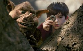 Freddie Highmore (right) and friend in The Spiderwick Chronicles