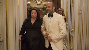 Melissa McCarthy, Jason Statham, and Jamie Denbo in Spy
