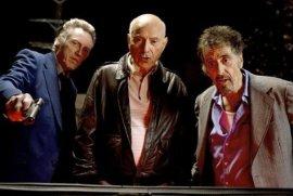 Christopher Walken, Alan Arkin, and Al Pacino in Stand Up Guys