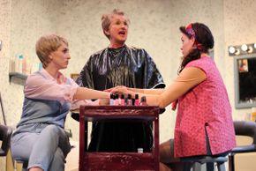 Bailey Jordan Reeves, Jalayne Riewerts, and Miranda Barnett in Steel Magnolias