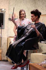 Livvy Marcus and Miranda Barnett in Steel Magnolias
