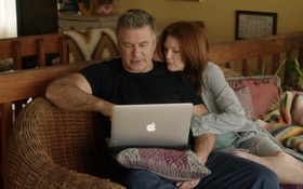 Alec Baldwin and Julianne Moore in Still Alice