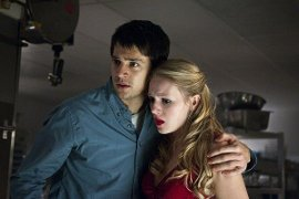 Nicholas D'Agosto and Emma Bell in Final Destination 5