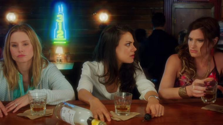 Kristen Bell, Mila Kunis, and Kathryn Hahn in Bad Moms