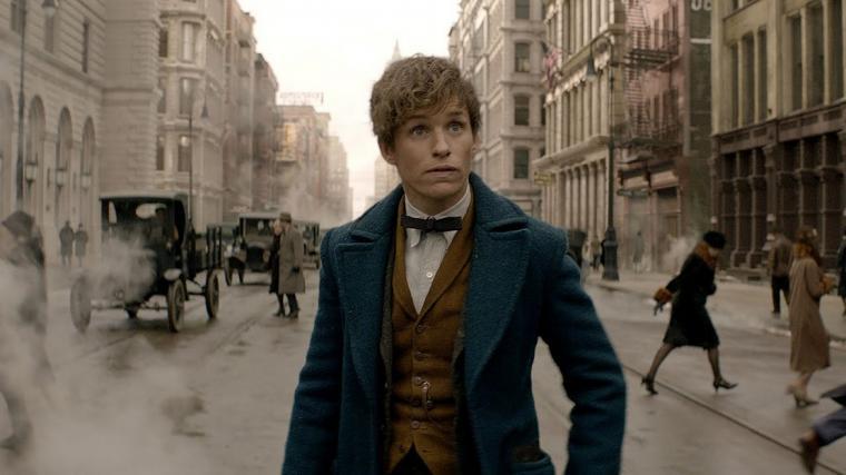 Eddie Redmayne in Fantastic Beasts & Where to Find Them