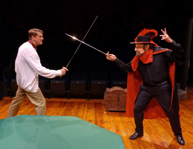 Victor Angelo and Joe LoGiudice in The Fantasticks