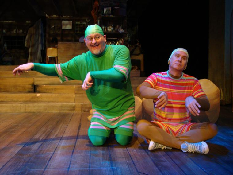 Janos Horvath and Brad Hauskins in A Year with Frog & Toad