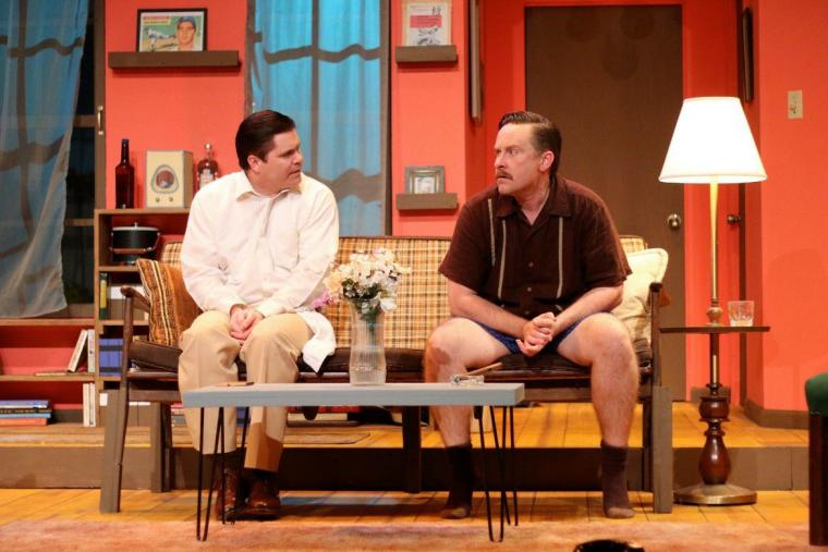 David Coolidge and Matthew Teague Miller in 'The Odd Couple'