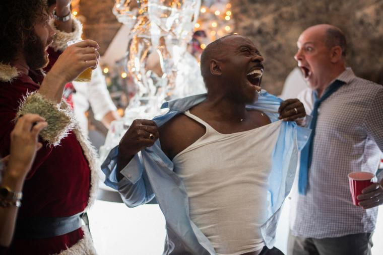 T.J. Miller, Courtney B. Vance, and Rob Corddry in Office Christmas Party