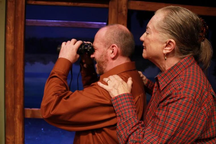 Kevin Babbitt and Rae Mary in On Golden Pond