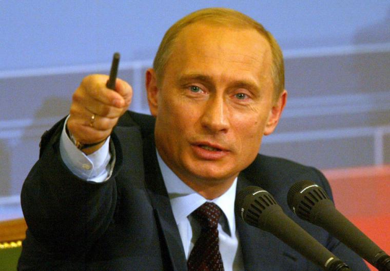 Russian Federation President Vladimir Putin